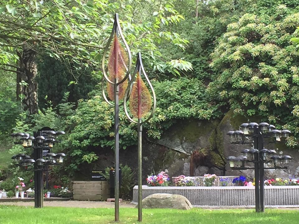 Minneslunden på Kvibergs kyrkogård